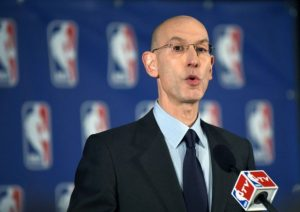 NBA Commissioner Adams Silver. (PHOTO: AFP)