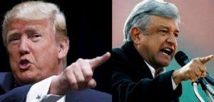 "Like Donald Trump, Andres Manuel Lopez Obrador (right) is a ""love him or loathe him"" politician.(PHOTO: noticracia.com)"