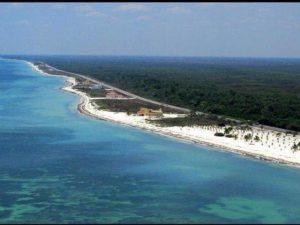 Beach near Sabancuy, Campeche.