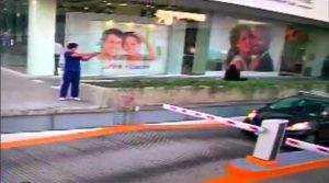 A man shoots at a U.S. consular official in his car in Guadalajara in this still image taken from January 6, 2017 security video footage released by the U.S. Embassy in Mexico. Unidentified source distributed by U.S. Embassy in Mexico/Handout via Reuters TV