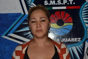 "A former federal police officer known as ""Doña Lety"" is said to be the leader of a drug gang in Cancun. (PHOTO: noticaribe.com)"