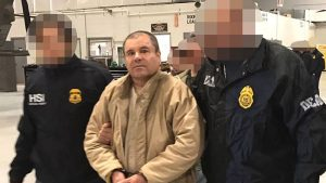 "Drug lord Joaquin ""El Chapo"" Guzman was extradited to New York last week. PHOTO: PGR/Prensa Internacional/ZUMA"