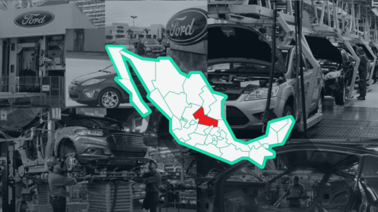 Ford has scrapped plans for a plant in San Luis Potosí. (IMAGE: Expansión)