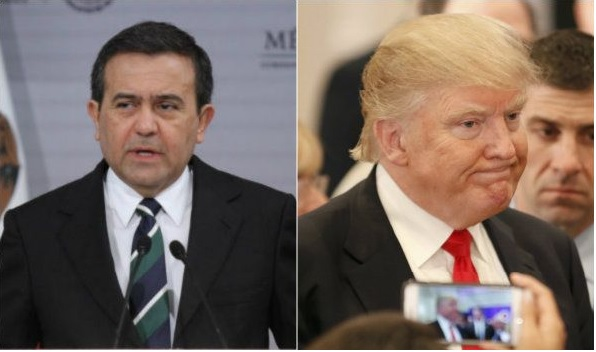 Mexico must be ready to retaliate if Trump levies border tax, says minister Guajardo. (Photo: Google)
