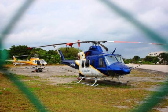 Helicopters could soon be offering flights from PDC´s maritime terminal. (PHOTO: sipse.com)