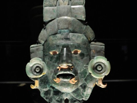 Calakmul mask. (PHOTO: Mexico es Cultura)