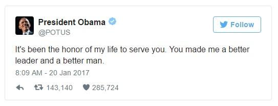 obama last tweet