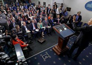 President Barack Obama's final news conference with the White House press corps. (PHOTO: slate.com)