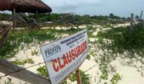 Profepa closed three projects in Tulum recently. (PHOTO: La Jornada Maya)