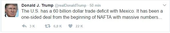 trump tweet one