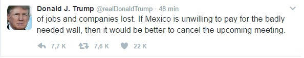 trump tweet two