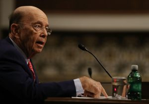 Wilbur Ross, U.S. Commerce Secretary,, at confirmation hearing. (PHOTO: marketwatch.com)