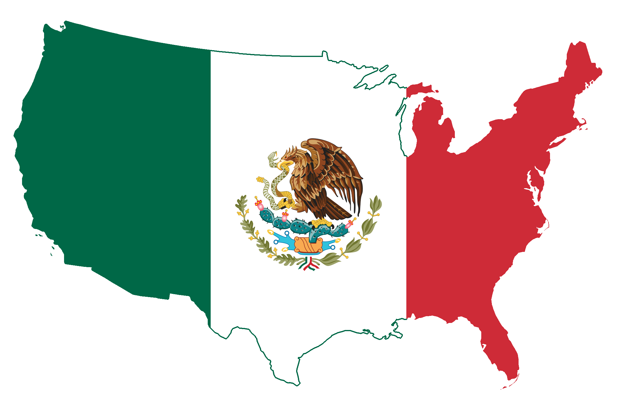 Us Mexico Borderjpg Mesmerizing Map Of Usa States And Tragomme - Mexico in usa map