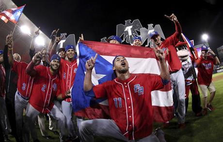 Puerto Rico took the crown for first time since 2000. (PHOTO: Associated Press)