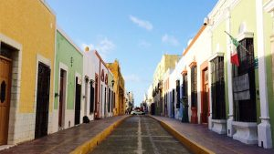 A street in Campeche Centro Historico. (PHOTO: travelweekly.com)