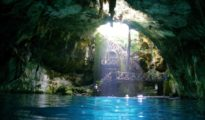 Cenote cleanup in Yucatan continues. (PHOTO: yucatanalamano.com)