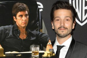 Diego Luna (right) will reinterpret the 'Scarface' role played by Al Pacino (left) in a previous film. (PHOTO: unomasuno.com)