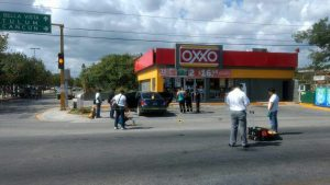 Gunfire killed at least one man Tuesday in Playa del Carmen. (PHOTO: Diario de Yucatan)