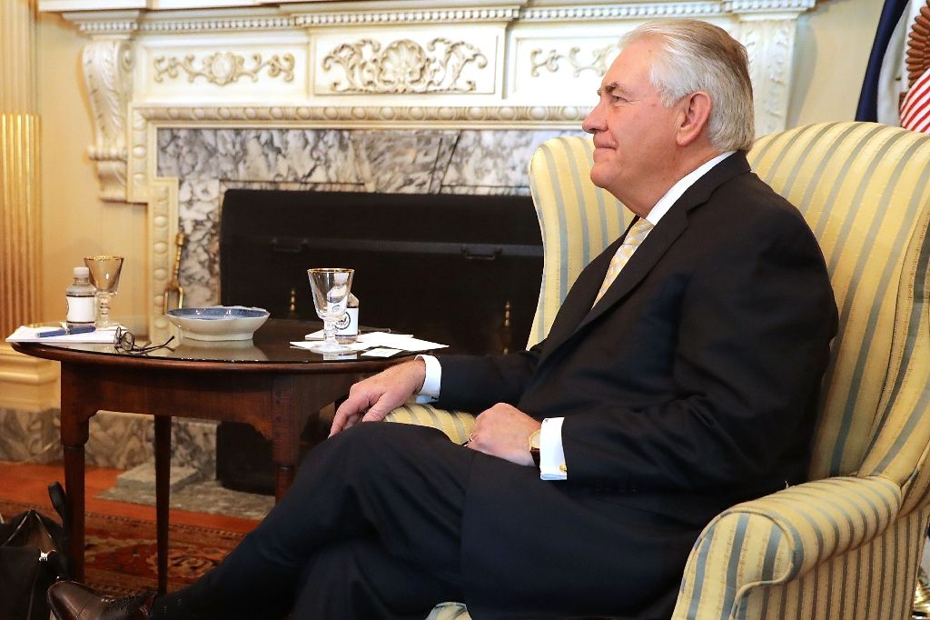 US Secretary of State Rex Tillerson will visit Mexico to discuss law enforcement, migration and security (AFP Photo/CHIP SOMODEVILLA)