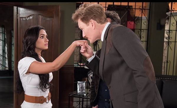 Conan making his move on a Mexican Telenovela