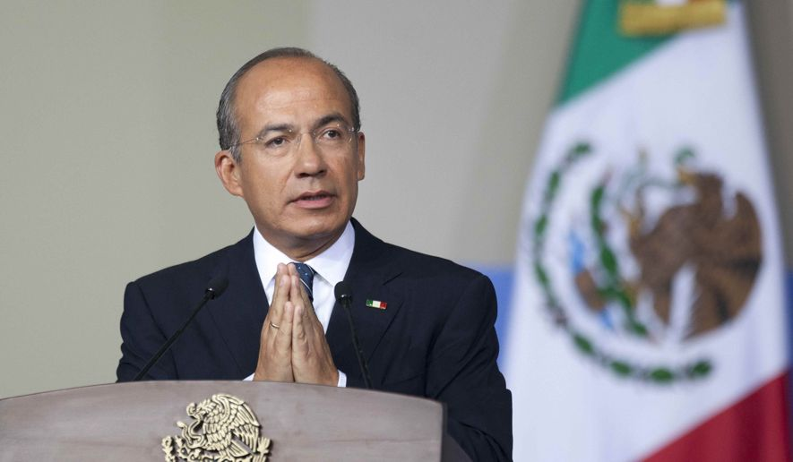Former Mexican President Felipe Calderon (Photo: vallartadaily.com)