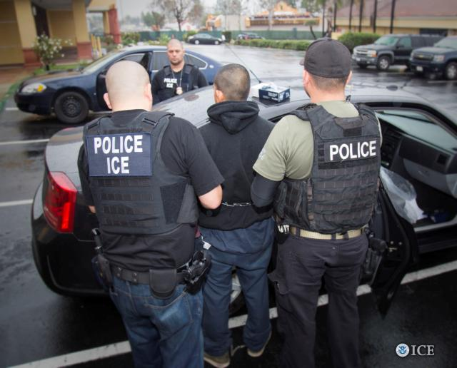ICE arrest father in CA