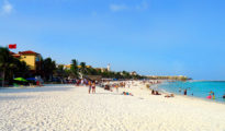 Playa del Carmen is a favored spot for Americans residing in Mexico. (PHOTO: huffingtonpost.com)