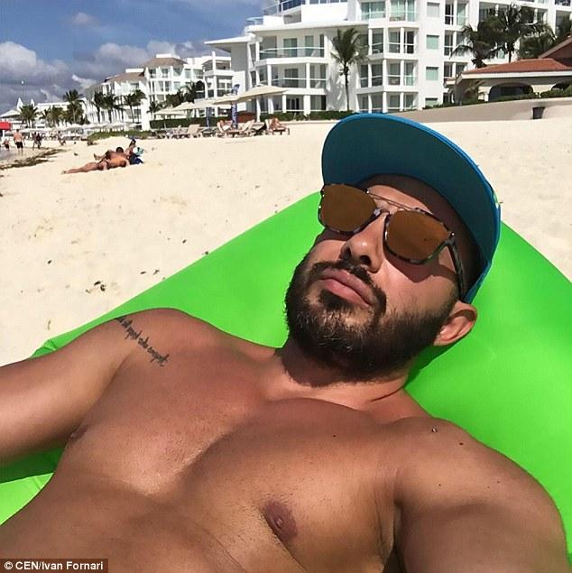Alleged Italian drug dealer was arrested in Playa del Carmen. (PHOTO: dailymail.co.uk)