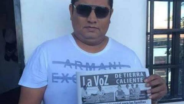 Cecilio Pineda, a journalist murdered in Guerrero this week, is one face of Mexico's grim murder statistics. (PHOTO: RFI)