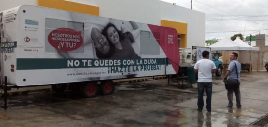 Modules for STD testing will be set up in Playa del Carmen. (PHOTO: noticaribe.com)
