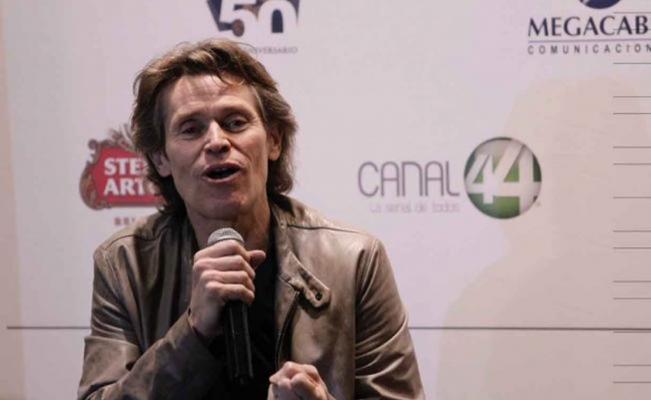 Willem Dafoe charms audiences at Guadalajara International Film Festival