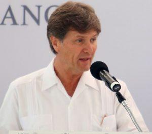 Mexico Tourism Secretary Enrique de la Madrid Cordero was in Merida for a ceremony Wednesday. (PHOTO: yucatan.com.mx)