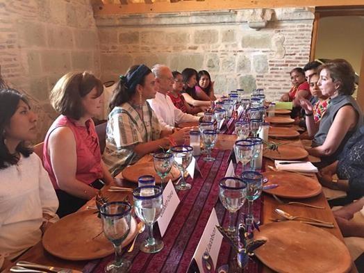 U.S. Ambassador Roberta Jacobson in Oaxaca. (PHOTO: U.S. Embassy)
