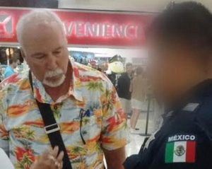 John Loveless was arrested at the Cancun airport in March 2016. (PHOTO: TYT file)