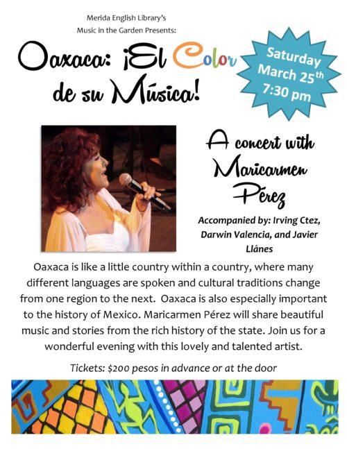 mel concert poster