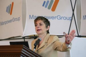 Monica Flores Barragan, incoming president of American Chamber of Commerce/Mexico. (PHOTO: El Economista)