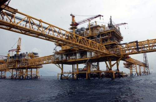 Gulf of Mexico oil platform near Ciudad del Carmen, Campeche. PHOTO: PEMEX/CUARTOSCURO.COM