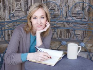 Harry Potter's creator, author J.K. Rowling. (PHOTO: denofgeek.com)