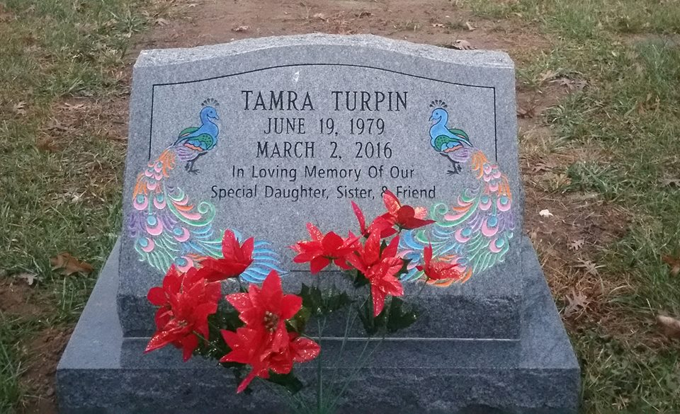 tamra tombstone