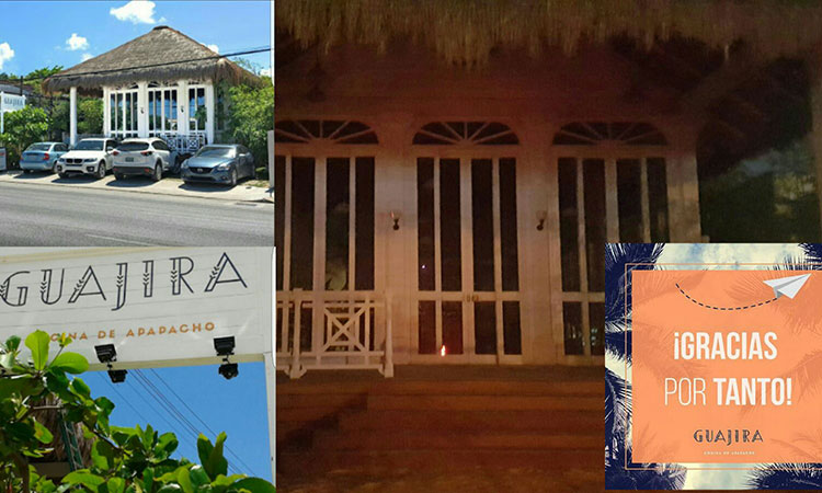 Front of Guajira Restaurant, (Photo: La Palabra del Caribe)