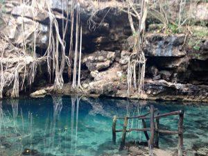 X´Batun Cenote, Yucatan, Mexico. (PHOTO: Chuck Bolotin)