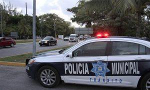 Cancun Transit Police vehicle. (PHOTO: lapalabradelcaribe.com)