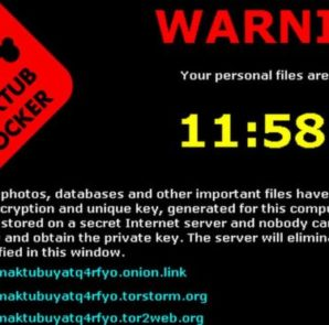 Screen after been infected by a Ransomware virus (Image: Google)
