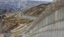 Existing border wall near San Diego. (PHOTO: latimes.com)