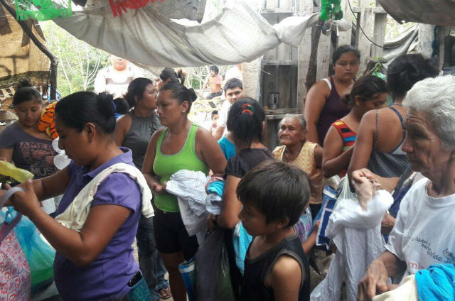 Doña Wilma's soup kitchen in south Merida provides meals at low cost to families in need. (PHOTO: La Verdad)