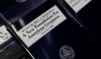 A copy of President Trump's Fiscal Year 2018 budget is on display on Capitol Hill in Washington, U.S., May 23, 2017.  PHOTO: reuters.com