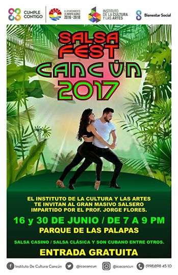 Salsa Fest Cancún 2017 Photo: Instituto de Cultura Cancún
