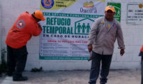 Temporal Shelter in Oxkutzcab Photo: Diario La Verdad