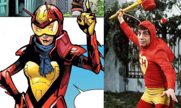 "The Red Locust, new Marvel character based on the famous Mexican TV Hero the Chapulín Colorado, from the famous Mexican TV comedian Roberto Gomez Bolaños ""Chespirito"" (Photo: La Palabra del Caribe)"