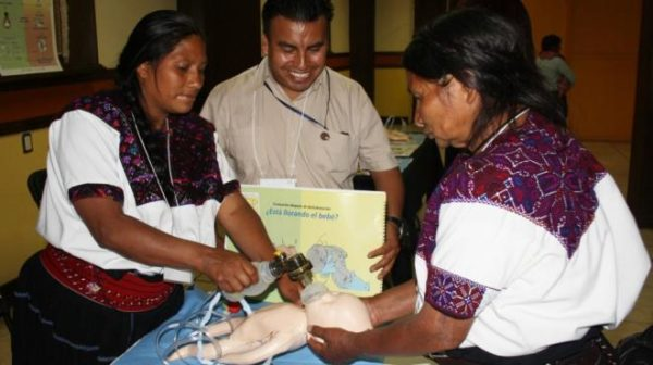 In Yucatan the Public Health Services gives training and certificates the Midwifes (Photo: Google)